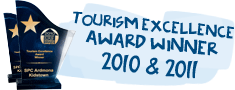 Tourism Excellence Award Winner 2010 and 2011