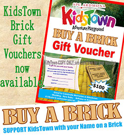 Buy a Brick - Support KidsTown with your name on a brick!