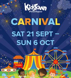 Kidsfest Carnival - Saturday 21 September to Sunday 6 October